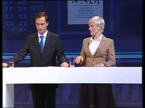 NDI TV Debata kandidati za nacelnika  Novi grad Sarajevo 02 10 2012