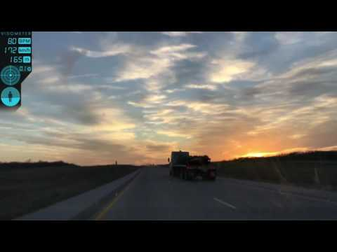 Texas 130 Toll Road High Speed Driving
