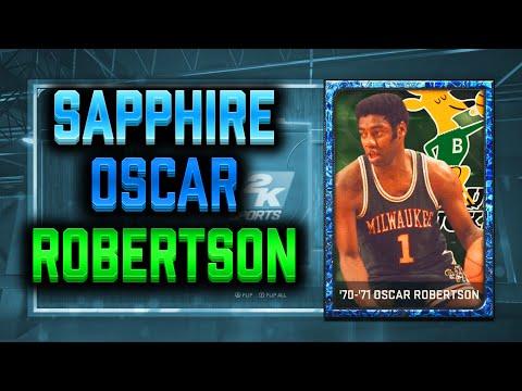 NBA 2K15 MyTeam Sapphire Pack Opening! Sapphire Oscar Robertson!