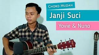Download lagu (TUTORIAL GITAR) Janji Suci - Yovie & Nuno | Chord Mudah