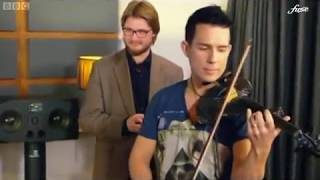 """Officially Amazing"" BBC TV : Ben Lee Breaks Fastest Violin Player Guinness World Record"