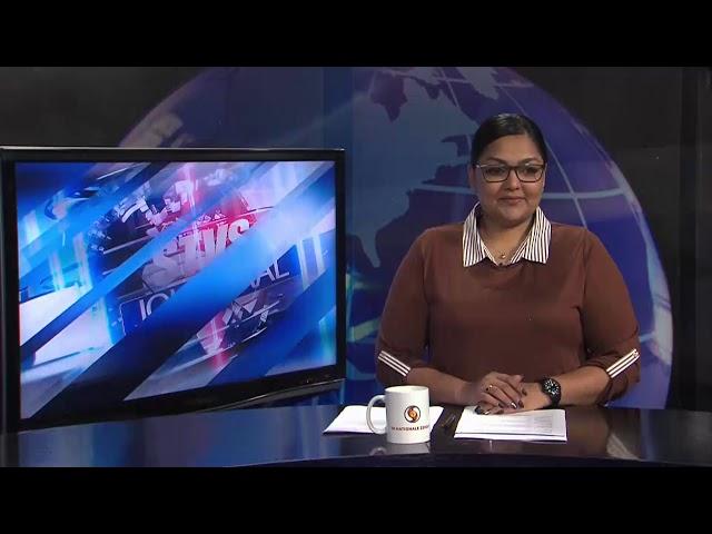 Jairzinho Rozenstruik in actie tegen Ciril Gane STVS JOURNAAL 26 februari 2021