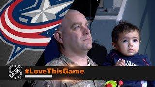 Master Sergeant Matthew Dodge returns to surprise family in Columbus