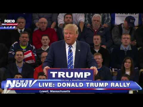 FULL Donald Trump Rally Lowell, Massachusetts - 1/4/16 (FNN)