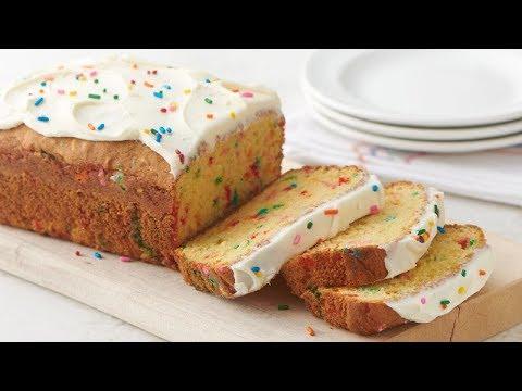 Birthday Cake-Mix Bread | Betty Crocker Recipe