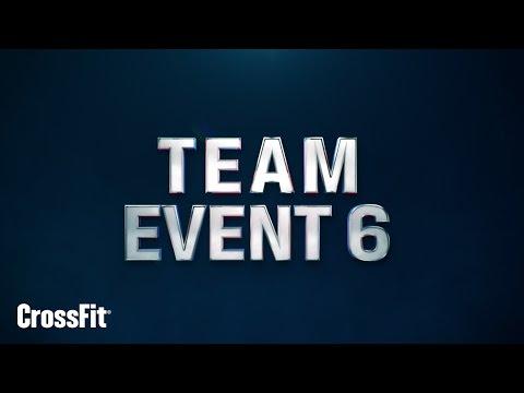 2015 Regionals: Team Event 6 Announcement