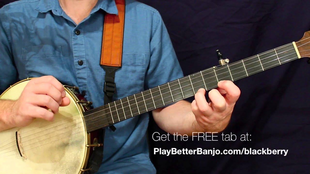 Blackberry Blossom - Clawhammer Banjo - Full FREE Lesson & Tab