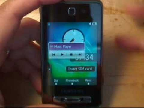 Samsung SGH-F480 Video Review