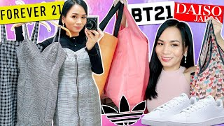 SHOP WITH ME at FOREVER 21 DAISO ADIDAS | Shopping Vlog + Haul ❤️
