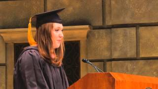 2013 Commencement: Molly O