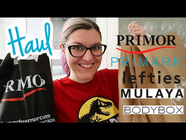 HAUL PRIMARK Febrero 2019 | Try On Haul LEFTIES | HAUL PRIMOR LOW COST