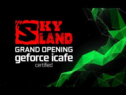 Grand Opening Skyland GeForce iCafe (Semarang)