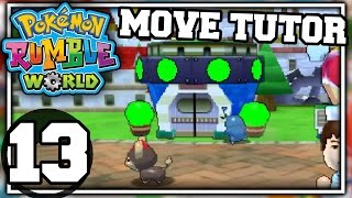 Pokemon Rumble World - Part 13 - MOVE TUTOR (Nintendo 3DS Playthrough)
