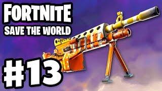 Fortnite: Save the World - Gameplay Walkthrough Part 13 - Candy Corn LMG! (PC)