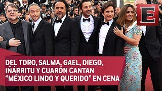 Mexicanos arman la fiesta en Cannes