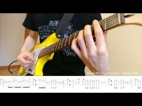 【TAB】 Sports Between Trenches - Murphy Radio (guitar Cover)