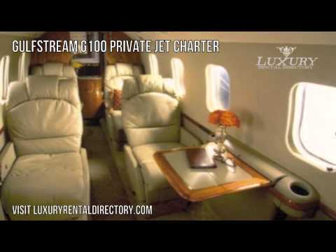 The Gulfstream G100 Private Jet Charter
