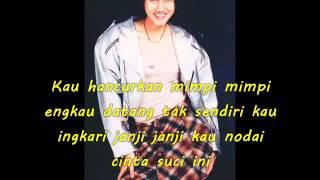 Gambar cover Nike Ardilla - Kau Bukan Milikku Lagi [Video Lyrics]