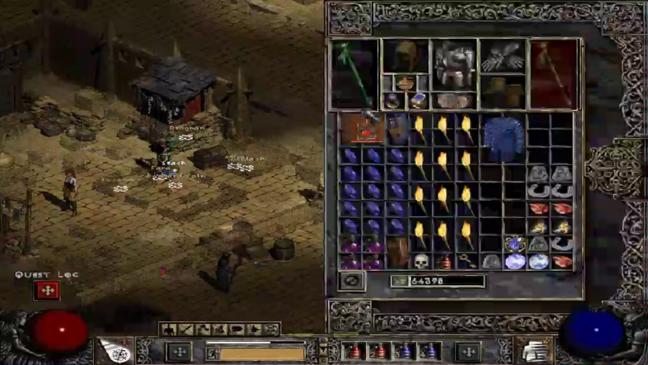 Diablo 2 Perfect Drop mod- Cube Tutorial