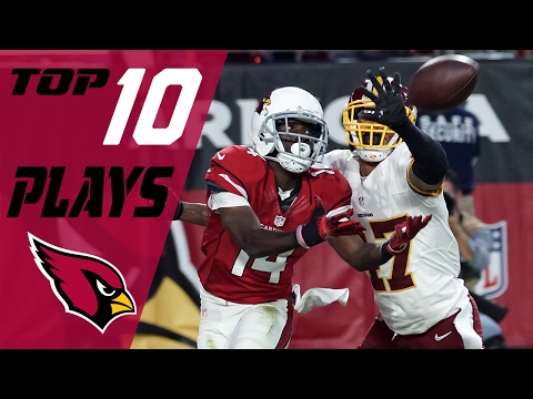 Cardinals Top 10 Plays of the 2016 Season | NFL Highlights