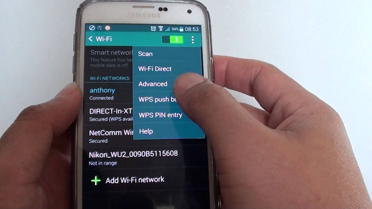Motorola MOTO G: How to Establish Wi-Fi Direct Connection