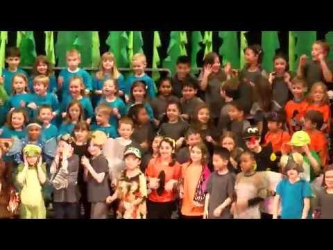 Mount Daniel School - First Graders Spring Musical 2016