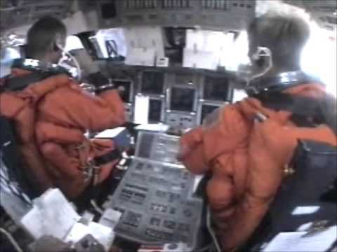 Full Cockpit Re-entry & landing + Crew Audio ♦ Space Shuttle STS-115