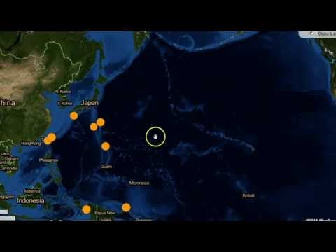 Earthquake Update 5/26/15 ~ TAMU MASSIF, The Largest Volcano in the World