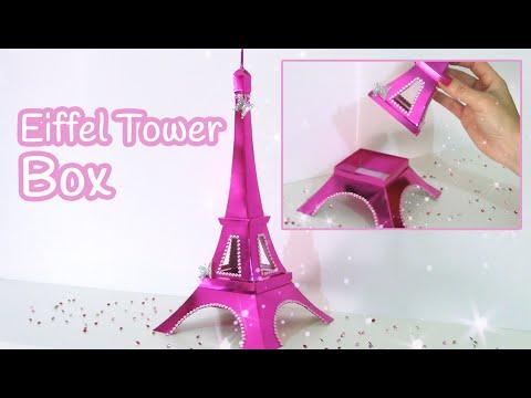 DIY crafts: Eiffel Tower BOX - Innova Crafts