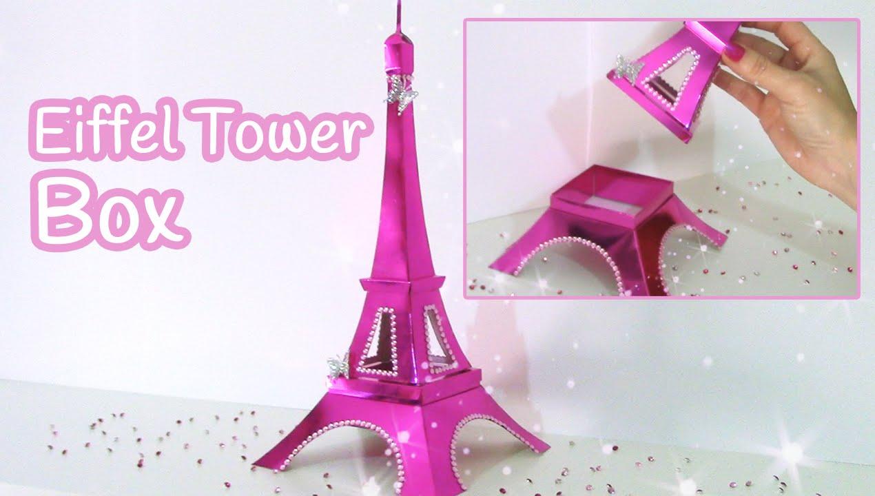 DIY Crafts Eiffel Tower BOX