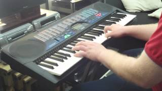 Casio CTK-495 Keyboard 100 Sounds & Features Part 1/2