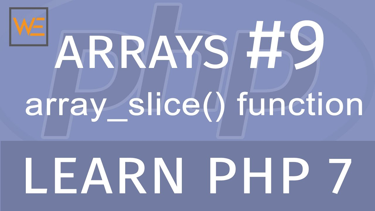 php array_slice