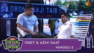 Bintang Bersama Bintang | Issey & Azmi Caliph Buskers | Minggu 5
