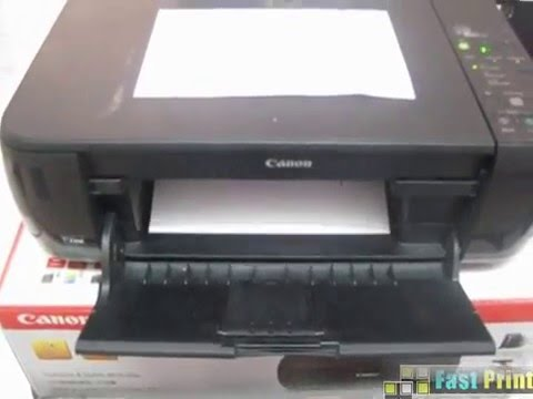 How To Test Print Without Software Canon Pixma Mp287 Youtube