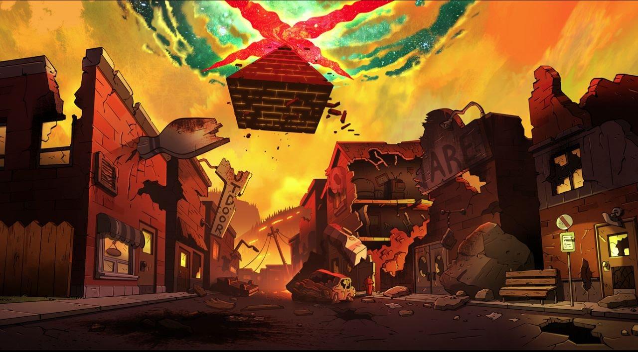 Gravity Falls Minimalist Wallpaper Weirdmageddon Part 2 Trailer Youtube