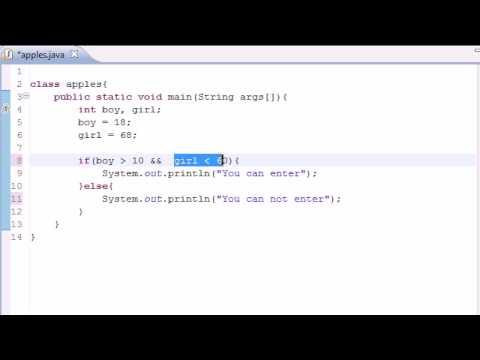 java-programming-tutorial---11---logical-operators