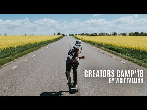 FREE TRIP TO TALLINN | Creators Camp 2018 - apply now