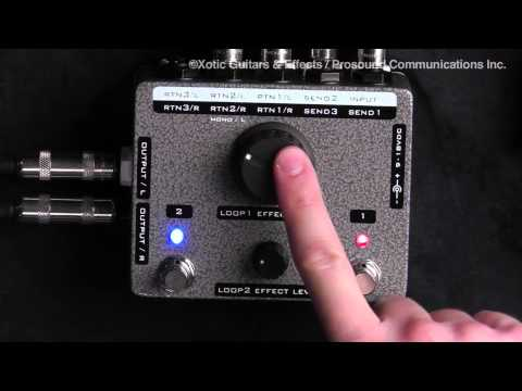 "Interview with Dave Weiner ""Xotic Effects Custom Shop Stereo X-Blender"""