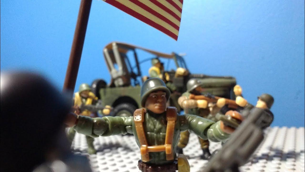 Operation Cobra: a mega construx WW2 stop motion film