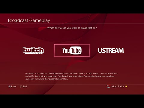 How to stream to Youtube and Twitch on PS4! How to Broadcast on the PS4