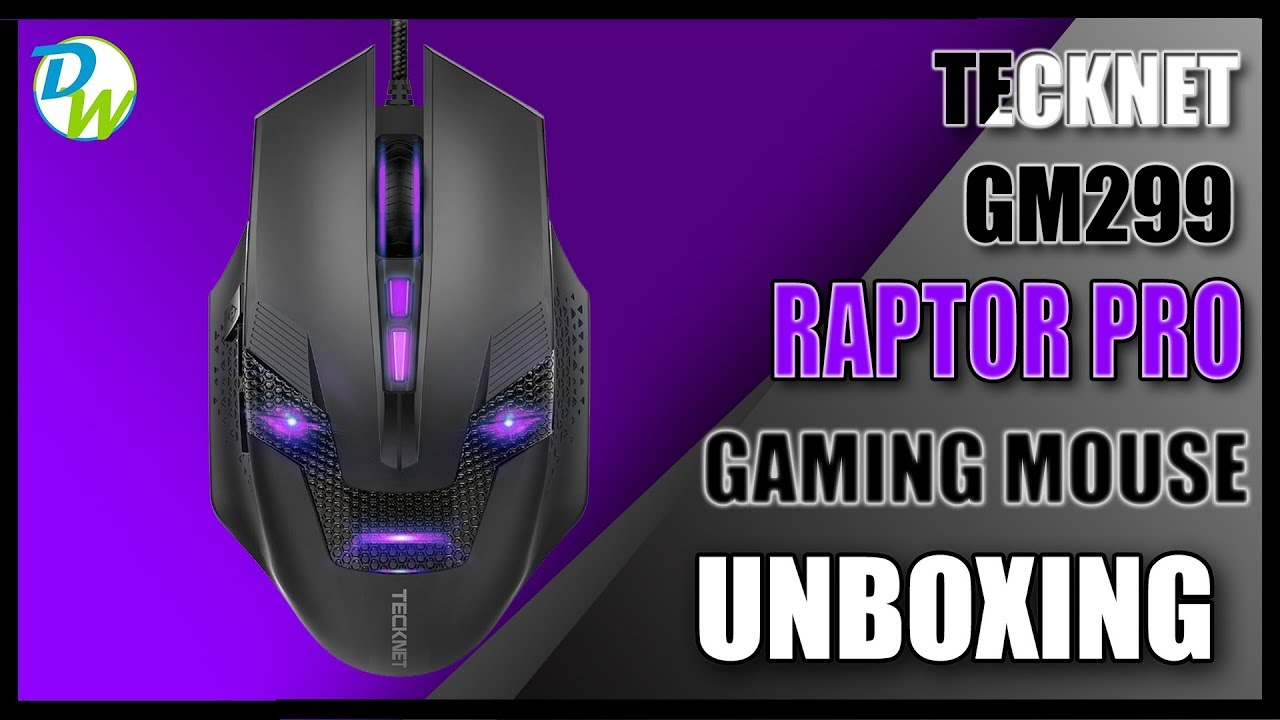 79a6460920f Tecknet Raptor Pro Gaming Mouse Unboxing - YouTube