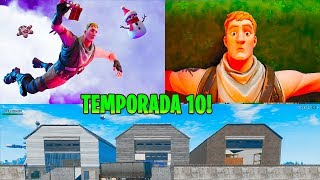 Hacker Takes me to Fortnite Season 10 and Shows Me Season 10 Fortnite MAP!!.. 😍