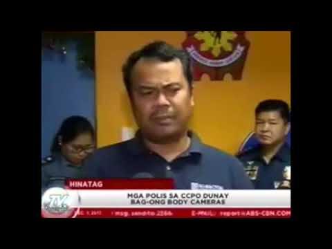 Turn Over of GUARDIAN Body Camera to Cebu City Police Office (CCPO)