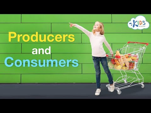 Producers and Consumers | Social Studies for Kids | Kids Academy