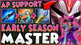 EARLY SEASON MASTERS! As Shaco Support.
