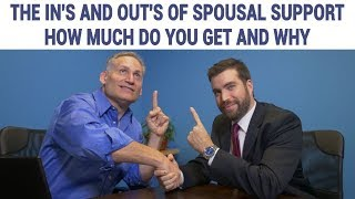 How is Spousal Support Calculated?