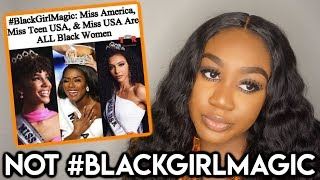 MIXED PAGEANT WINNERS ARE BLACK GIRL MAGIC ChiomaChats ft Nadula Hair
