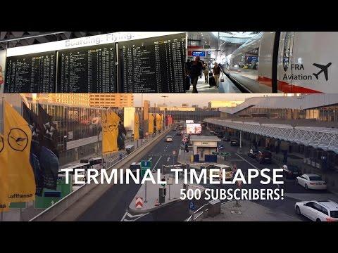 Inside FRA - Frankfurt Airport Timelapse