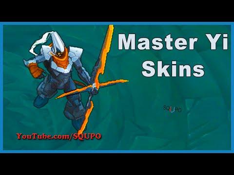 All Master Yi Skins Spotlight (League of Legends)