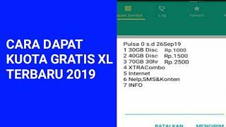 TRIK INTERNET GRATIS XL TERBARU 2019 - KODE DIAL XL PAKET INTERNET GRATIS TERBARU 2019